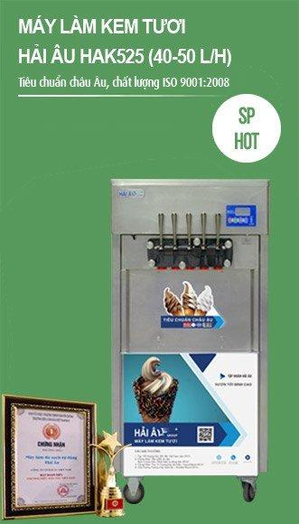 máy làm kem tươi hải âu