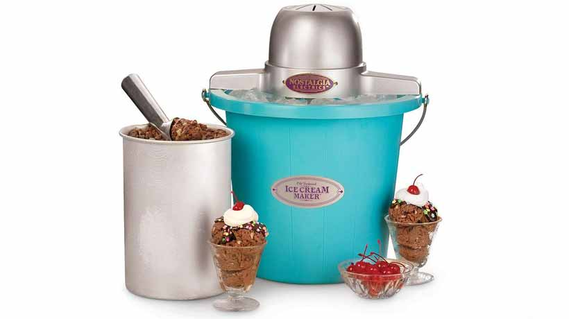 máy làm kem cổ điển