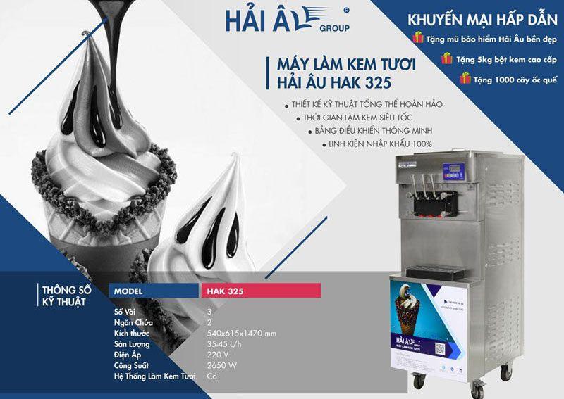 thiết kế máy làm kem tươi hải âu