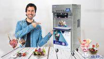 chọn mua máy làm kem gia đình