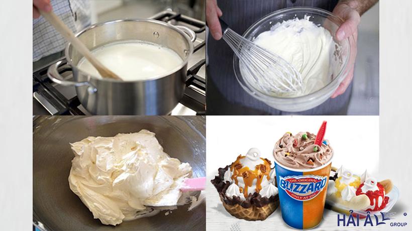 Cách làm kem tươi chuẩn nhất