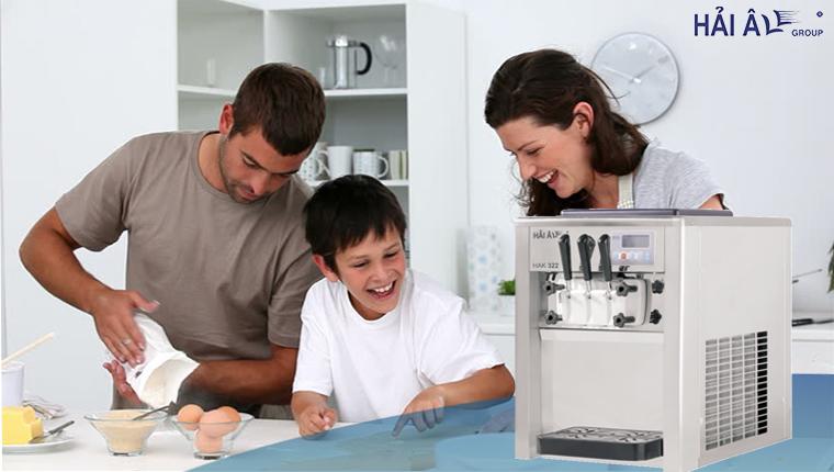 Máy làm kem gia đình kinh doanh tốt