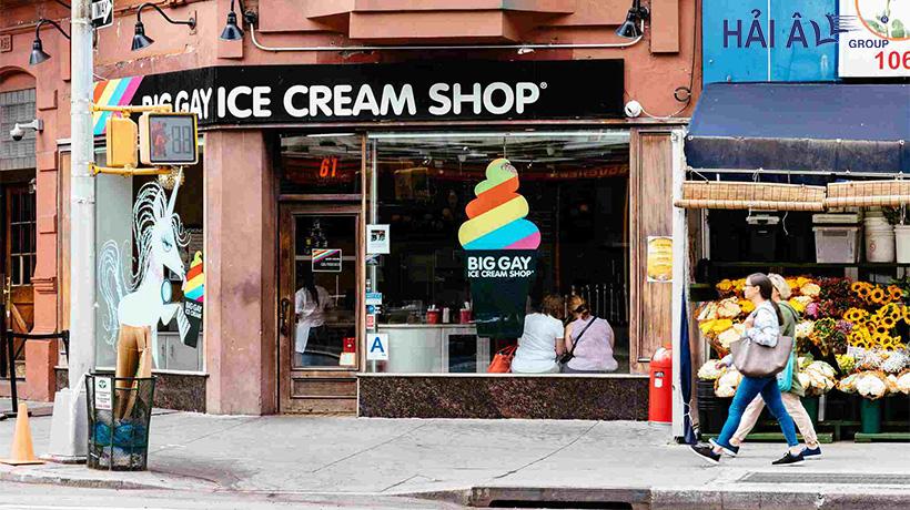 Mở cửa hàng bán kem
