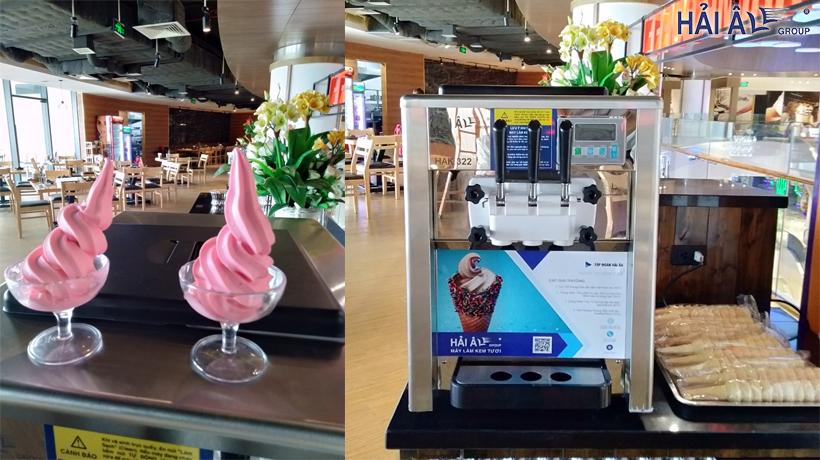 Mua máy làm kem tươi mini