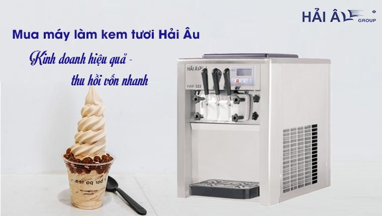 Mua máy làm kem tươi