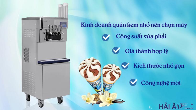 Mua máy làm kem tươi kinh doanh nhỏ