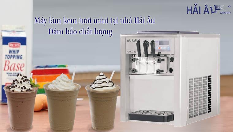 Máy làm kem tươi mini tại nhà