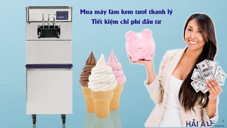 Mua máy kem thanh lý