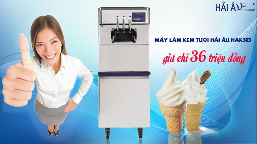 Mua máy làm kem tươi hải âu giá tốt