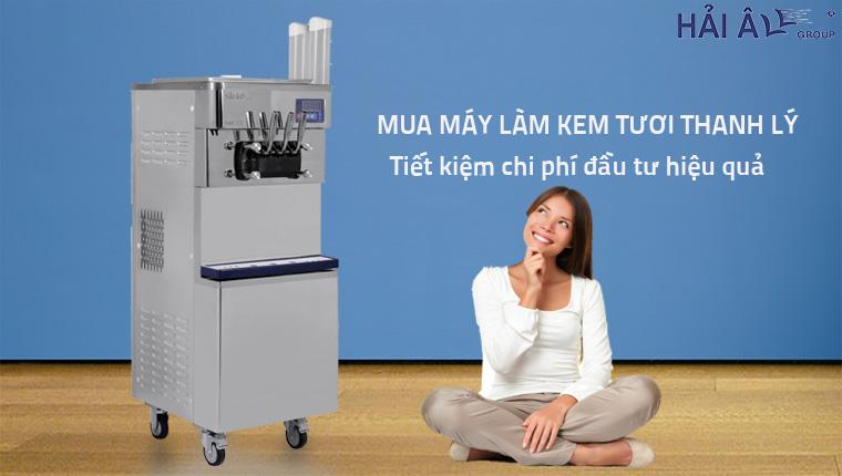Mua máy làm kem tươi thnah lý tại Hà Nội