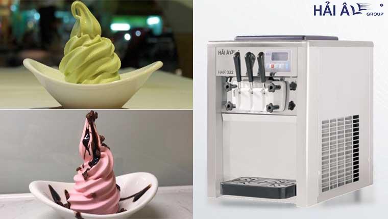 Cửa hàng làm kem tươi