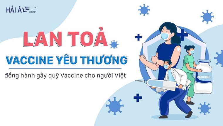 chung tay cùng Hải Âu group góp quỹ vacxin